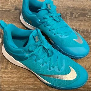 Nike Zoom Shift Aqua Men's Basketball Shoes